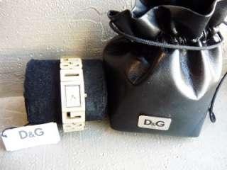 GABBANA Womens DW0287 D&G Ladies Shout Gold Tone Crystal Watch