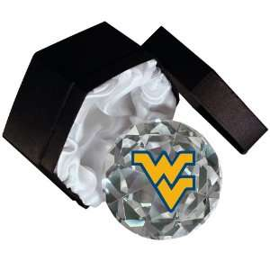 NCAA West Virginia Mountaineers Logo 4 Inch High Brillance
