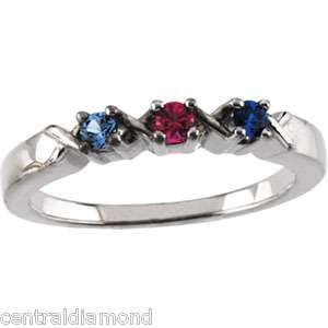 The approximate weight of a 2 stone mothers ring is 3.12 grams.