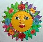 sun celestial metal art wall decor