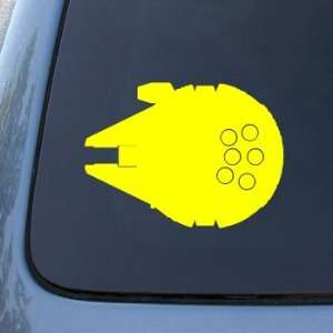 MILLENIUM FALCON   Star Wars   Vinyl Decal Sticker #A1407
