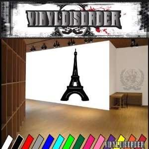 Paris Eiffel Tower NS003 Vinyl Decal Wall Art Sticker