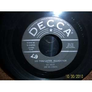 You Later Alligator/The Paper Boy Bill Haley And His Comets Music