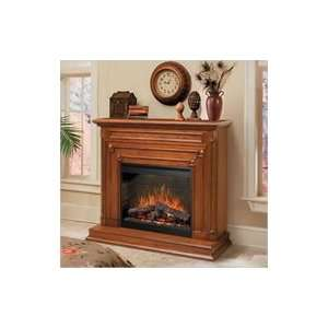 Dimplex Dorset Electric Fireplace   Pecan