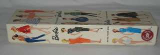 1961 MATTEL BARBIE #1 BUBBLE CUT BLONDE HAIR IN ORIGINAL BOX