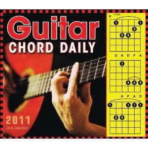 Hal Leonard 2011 Guitar Chord Daily Boxed Calendar: Office
