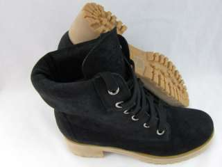 LUCKY BRAND WOMENS JINNY BLACK SUEDE BOOTS 6