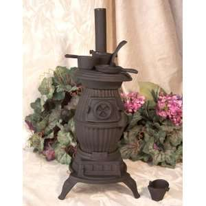 Stove Pot Bellied Cast Iron  Kitchen & Dining