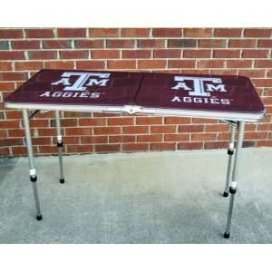 Texas A&M TAMU Aggies Folding 46 inch Tailgate and Camp