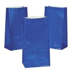 Royal Blue Paper Gift Bags (1 dz)
