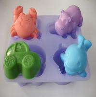type 4cav silicone mold for soap making,candle making SOAP MAKER