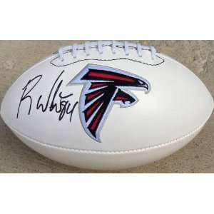 RODDY WHITE SIGNED AUTOGRAPHED FOOTBALL ATLANTA FALCONS COA + HOLOGRAM