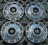 1967 CHEVY CHEVROLET NOVA HUBCAPS HUB CAPS WHEEL COVERS