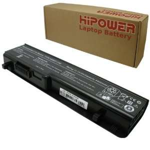 Hipower 6 Cell Laptop Battery For Dell Studio 1745, 1747, 1749