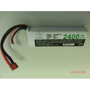 11.1V 2100mAh 30C RC Battery For Airplane, Helicopter