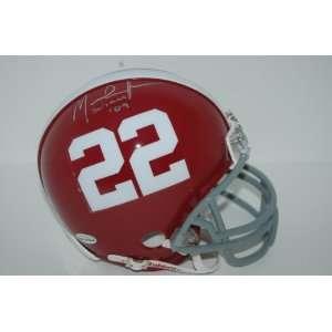 Mark Ingram Autographed Mini Helmet   Alabama