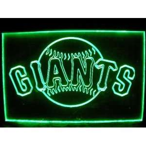 MLB   San Francisco Giants Team Logo Neon Light Sign