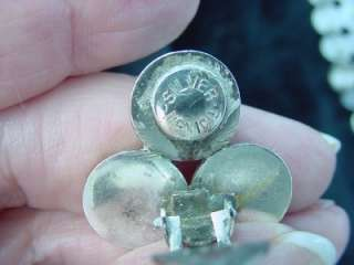 STERLING SILVER WIDE BALL BRACELET & EARRINGS 48.19 Grams