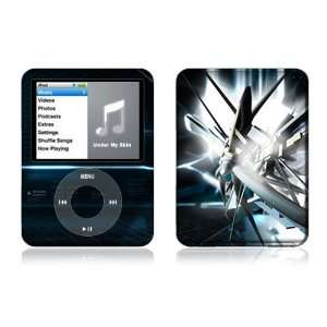 Apple iPod Nano (3rd Gen) Decal Vinyl Sticker Skin  Abstract Tech City
