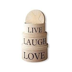Live Laugh Love Nesting Box Set