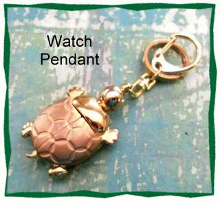 AXIS Lady Bug Gold Tone Pendant Watch
