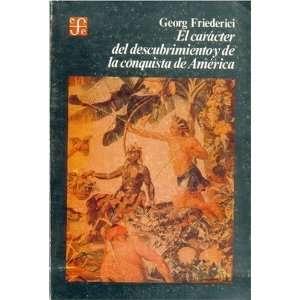 Viejo Mundo, (Spanish Edition) (9789681624866) Georg Friederici