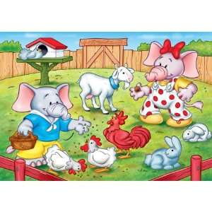 Jumbo the Elephant Feeding Time Jigsaw Puzzle 20pc Toys