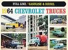 Chevrolet Truck Original Sales Brochure   Pickup Suburban El Camino