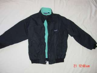 PATAGONIA Fleece lined black jacket Size 12 (Kids?)