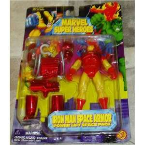 Marvel Super Heroes Iron Man Space Armor Power Lift Space