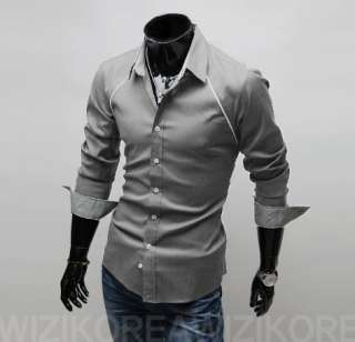 2012New Stylish Mens Casual Slim fit Dress Shirts Collection