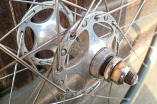 Front Wheel with Campagnolo NJS Hub & MAVIC Rim