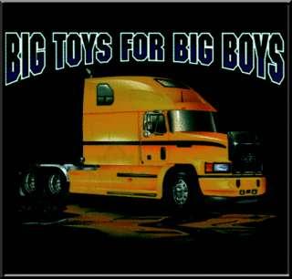 Big Toys 4 Boys Semi Truck T Shirt KIDS 6 8,10 12,14 16