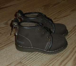 NWT Toddler Boys SZ 6 OSHKOSH Shoes Boots Brown $36