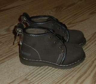 NWT Toddler Boys SZ 6 OSHKOSH Shoes Boots Brown $36 |