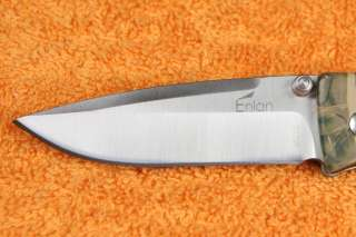 New Enlan High Quality Steel Folding Knife M018CA