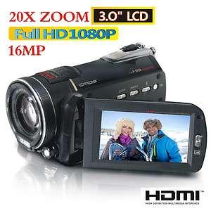 16MP FULL HD 1080P 3.0LCD DV DIGITAL VIDEO CAMCORDER CAMERA HD 10Z