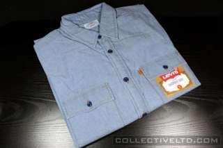 Lightweight Chambray Work Shirt wtaps visvim BLUE Medium M
