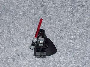 Lego Star Wars Darth Vader Light Up Saber Minifig Figure #7263 EUC