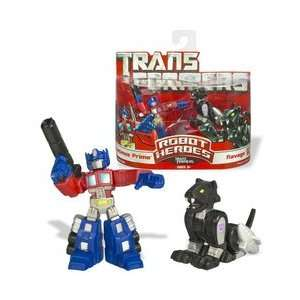 Transformers Movie Heroes Optimus Prime and Ravage Toys