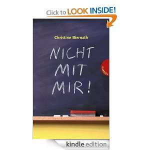 Nicht mit mir (German Edition) Christine Biernath