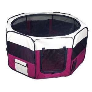 Portable Dog Pet Playpen Exercise Pen House Kennel Crate
