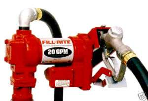 FILL RITE 4210 12 VOLT DC 1/4 HP MOTOR