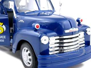 of 1953 Chevrolet 3800 Tow Truck Blue diecast model car by Welly