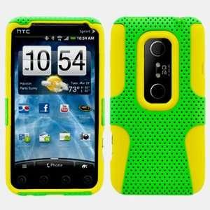 Plastic Case for HTC EVO 3D + Ultra Premium Clear Film Screen