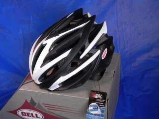 NEW 2011 BELL VOLT BIKE HELMET MATTE BLACK WHITE SMALL