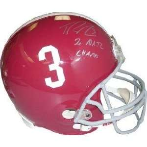 Trent Richardson signed Alabama Crimson Tide Full Size