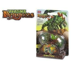 Mega Bloks Plasma Dragons Gorgonaw Forest Predator Dragon