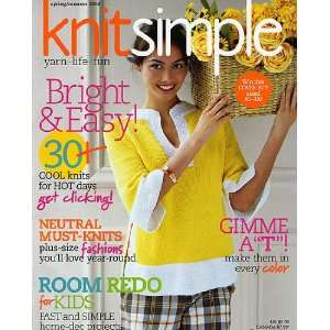 Knit Simple Spring/Summer 2008 Arts, Crafts & Sewing