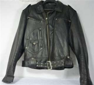 Harley Davidson Leather Jacket Vintage Heritage Boise XL OR Small